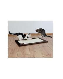 TRIXIE Škrabadlo pre mačky  podložka 70 x 45 cm s plyšom hnedá