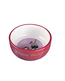 Trixie Keramická miska Honey-Hopper pro morče, králíka 250ml/11cm