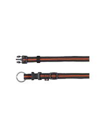 """TRIXIE Obojok """"Fusion obojok"""" 35 - 55 cm / 20 mm čierny - oranžový"""