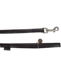 ZOLUX Vodítko mac leather 25 mm / 1.2 m čierne