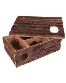 TRIXIE Domček drevený pre škrečka 35x11x25cm
