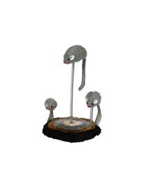 TRIXIE Myši na pružine 3 ks / op (30 cm)