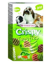 Versele-LAGA Prestige 150 g crispy toasties zelenina pre hlodavce