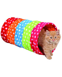 TRIXIE Tunel pre mačky  25 x 50 cm farebný