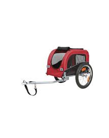 TRIXIE Vozík pro psa za bicykel  38 x 37 x 58 cm červeno-čierný