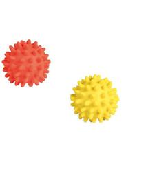 TRIXIE Latexová ježatá loptička so zvukom 6 cm