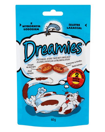 Dreamies Dreamies s  lososom 0.06 kg