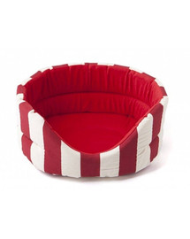 COMFY Pelech Marina červeno-biely XS
