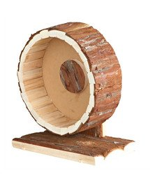 """TRIXIE Bežecké koliesko """"Natural Living"""" drevené stredné 20 cm"""
