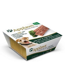 APPLAWS Dog Paté Beef & vegetables 150 g