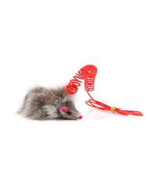 COMFY Zábavná hračka Mini Myš na pružine 7.5cm
