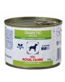 ROYAL CANIN Veterinary Health Nutrition Dog Diabetic Can 195g Konzerva