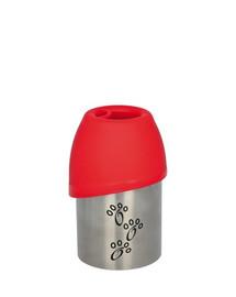 TRIXIE Kovová fľaša s plastovou miskou 300 ml
