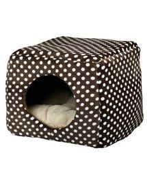 TRIXIE Plyšový domček / Pelech Mina 40X32X40 cm