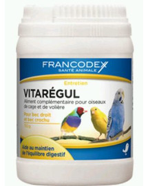 FRANCODEX Vitaregul Reguluje Pracę Jelit Ptaków 150 g
