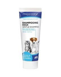 FRANCODEX Jemný šampón pre mačku a šteňatá 200 ml