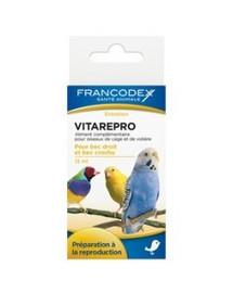 FRANCODEX Vitamíny podporujúce plodnosť a reprodukciu vtákov 15 ml