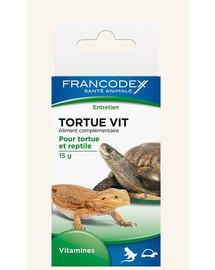 FRANCODEX Vitamíny pre korytnačky a plazy15 g