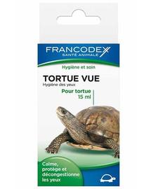 FRANCODEX Kvapky na čistenie očí korytnačky 15 ml
