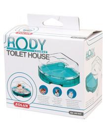 ZOLUX Toaleta pre hlodavce Rodylounge tyrkysová