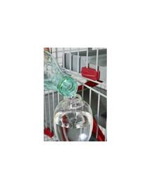 ZOLUX Napájačka pre hlodavce s plnením zhora 500 ml červená