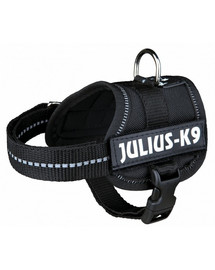 TRIXIE Postroj JULIUS-K9® Power XL 82-118 cm čierny