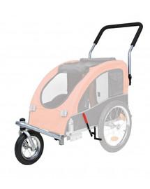 TRIXIE Predné koleso a držadlo k vozíku, premena na behanie 12814