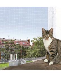 TRIXIE Ochranná sieťka pre mačky . 75 x 2 m transparentná