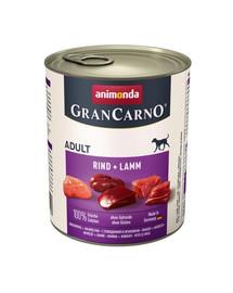 ANIMONDA Grancarno hovädzie/jahňacie konzerva 400 g