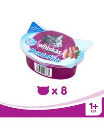 WHISKAS Dentabits na čistenie zubov 40g x8