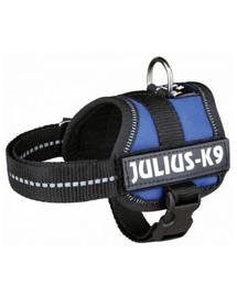 TRIXIE Postroj pre psov Julius-K9, Rozm.1 / L: 66-85 cm, modrý