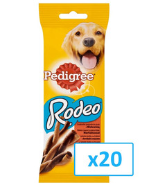 PEDIGREE Rodeo hovädzie 0.07 kg x20