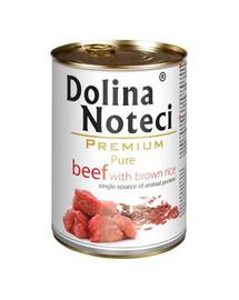DOLINA NOTECI Premium Pure hovädzie mäso s ryžou 400 g