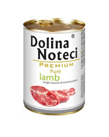 DOLINA NOTECI Premium Pure jahňacie 400 g