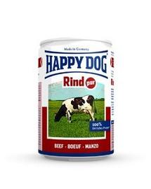HAPPY DOG Konzerva pre psa - hovädzie (hovädzie čisté ) 200g