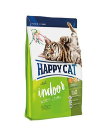 HAPPY CAT Fit & Well Indoor Adult Jahňacie 300 g