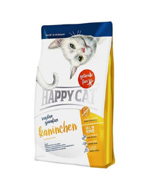 HAPPY CAT Sensitive Grainfree králik 4 kg