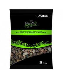 AQUAEL štrk prírodný  viacfarebný 5-10 mm 2kg