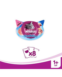 WHISKAS Temptations losos 60 g x8