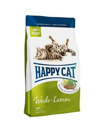 HAPPY CAT Fit & Well Adult jahňacie 4 kg