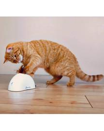 TRIXIE Hračka pre mačky  na baterky s detektorom pohybu Feather Hider