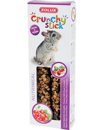 ZOLUX Crunchy Stick činčila šípky a ríbezle 115 g