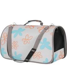 ZOLUX Cestovná taška Flower veľká sivá