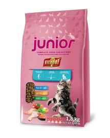 VITAPOL Krmivo pre mačky Junior 1,8 kg