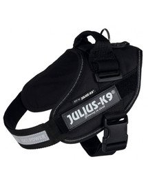TRIXIE Postroj Julius-K9 IDC 3/XL: 82–115 cm/50 mm čierny