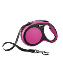 FLEXI New Comfort L Tape 8 m Pink