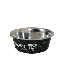 ZOLUX Miska Inox Happy 2,65 l čierna