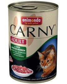 ANIMONDA Carny hovädzie/zverina 400 g