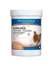 FRANCODEX Pluma-Pick Prípravok pre vyvážený rast peria hydiny 250 g