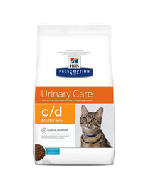 HILL'S Prescription Diet c / d Feline Ocean Fish 5 kg